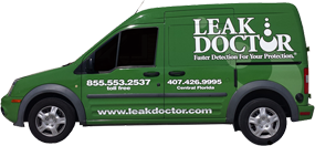 Water Intrusion Detection, Repair Tampa FL - Leak Doctor - van